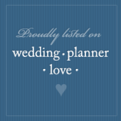 Proudly Listed on Wedding Planner Love