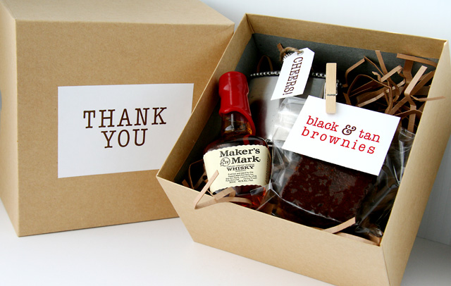 Diy Wedding Gift Box: Groomsmen Gift Ideas