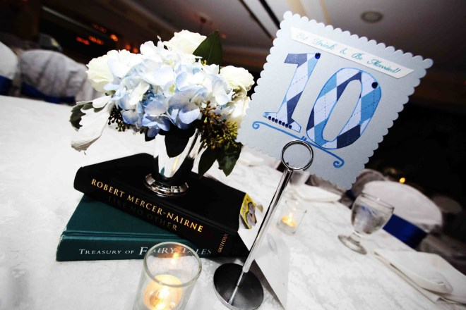 Wedding Book Centerpiece
