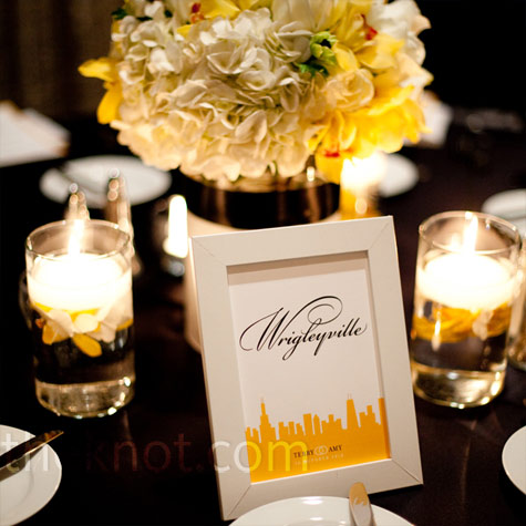 Chicago Table Names