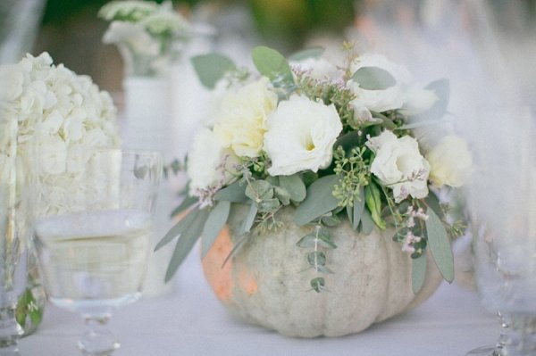 Fall ing in love the centerpieces of