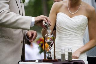 sand ceremony wedding Cindy Cieluch Photography 1