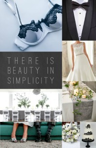 Grey Lace Demi Mood Board