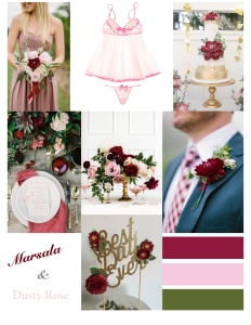 Microsoft Word - marsala wedding mood board