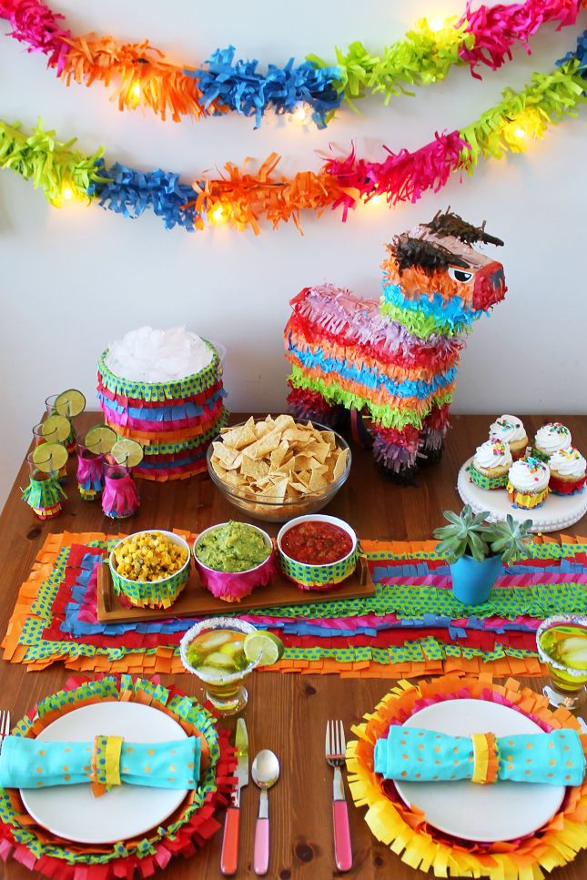Cinco de mayo party ideas - Cinco de mayo party decoration ideas ...
