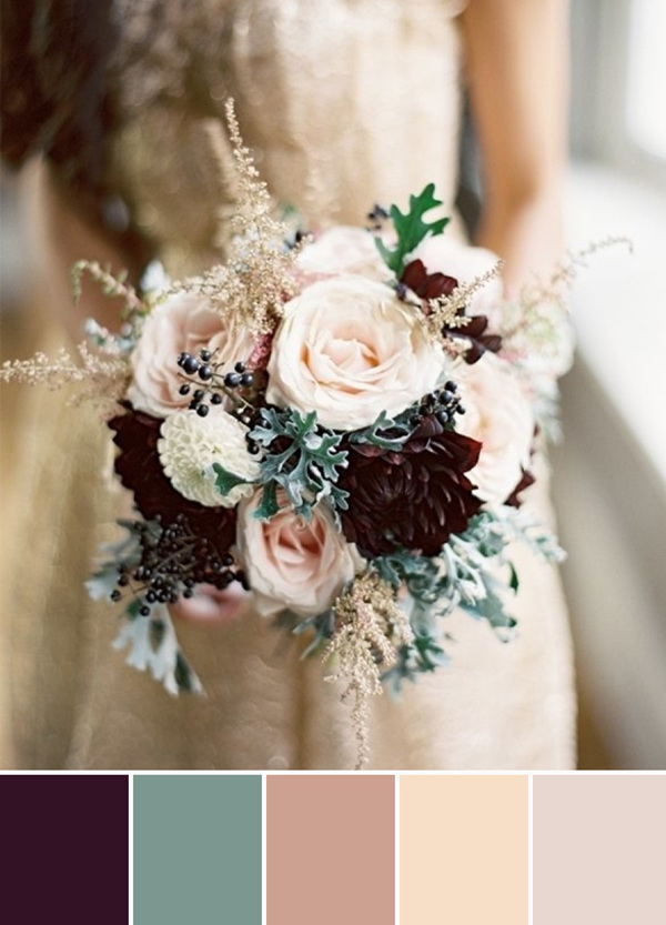 Finding Your Wedding Color Scheme