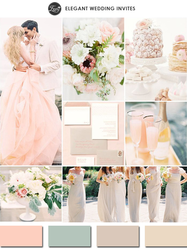 Finding your wedding color scheme for Best wedding color combinations