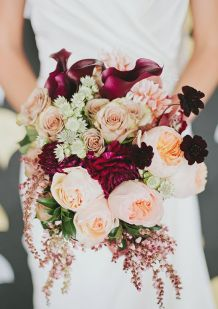 Marsala adds just the right pop to your bouquet.