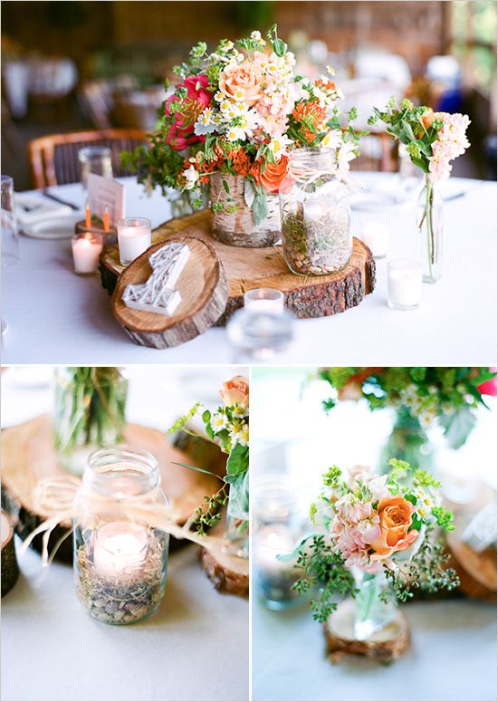 Inspired by Fall – Wedding Reception Décor (Post 2 of 2)