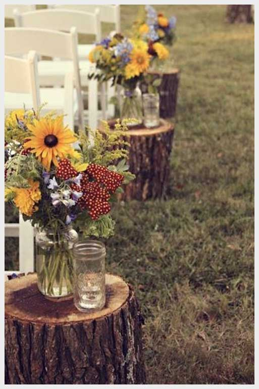 Inspired by Fall – Wedding Ceremony Decor (Post 1 of 2)