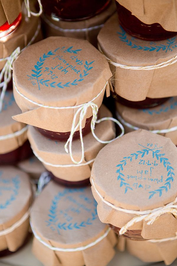 Edible Fall Wedding Favors