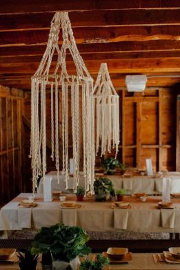 rustic-macrame-wedding-chandeliers