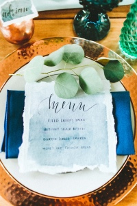 Copper Fruit Wedding Inspiration - photo by Giving Tree Photography http://ruffledblog.com/copper-fruit-wedding-inspiration